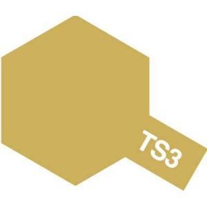 タミヤ カラースプレー TS3 ダークイエロー【つや消し】 hobby-zone