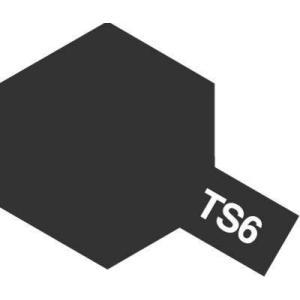 タミヤ カラースプレー TS6 マットブラック【つや消し】 hobby-zone
