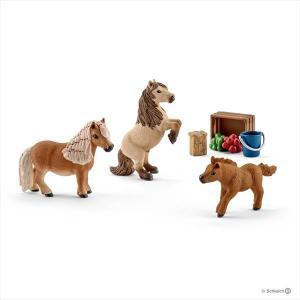 HORSE CLUB 41432 ミニシェッティの家族 シュライヒ|hobby-zone