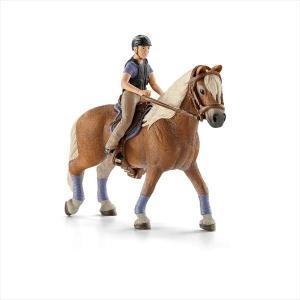 WORLD OF HORSES 42113 リクリエーショナル・ライダー シュライヒ|hobby-zone