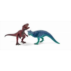 DINOSAURS 42215 カルノタウルスとギガノトサウルス(小) シュライヒ|hobby-zone