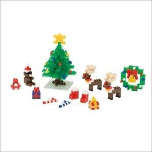 nanoblock 情景コレクションシリーズ クリスマスセット2014 NBH-077 カワダ|hobby-zone