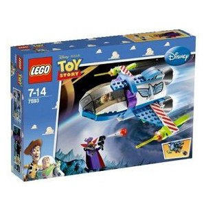 LEGO トイ・ストーリー 7593 バズのスターコマンドスペースシップ おもちゃ レゴブロック|hobby-zone