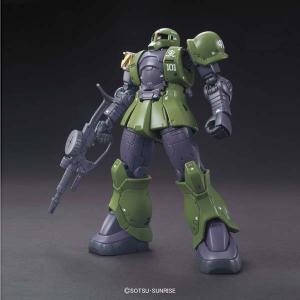 HG 1/144 機動戦士ガンダム THE ORIGIN No.009 ザクI(デニム/スレンダー機) バンダイ