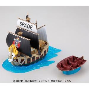 偉大なる船コレクション ワンピース 12 スペード海賊団の海賊船 バンダイ|hobby-zone