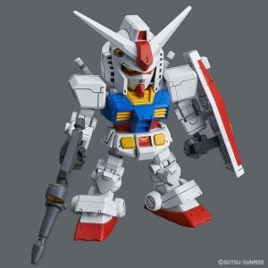 ■頭身自在の新世代SDガンダム、ついに始動!!■「SDCS RX-78-2 ガンダム」とCS(クロス...
