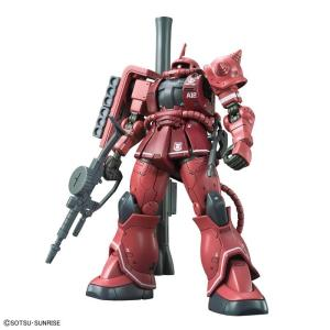 『機動戦士ガンダム THE ORIGIN』に登場するシャア専用ザクIIを新規パッケージと新たな武装で...