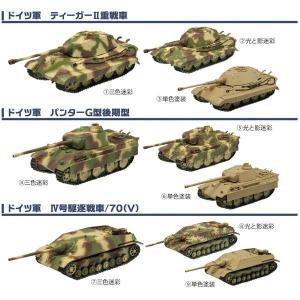 1/144 ワールドタンク ミュージアムキット Vol.4 ドイツ機甲師団アルデンヌ1944 1BOX(10個入り) エフトイズ・コンエフェクト|hobby-zone