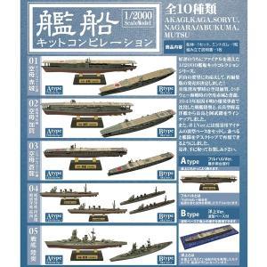 1/2000 艦船キットコンピレーション 1BOX(10個入り) エフトイズ・コンフェクト hobby-zone