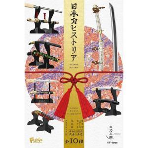 1/8の刀身、白鞘、1/12又は1/10の拵え付刀、刀を飾る刀架のセットです。刀の進化、変遷をたどる...