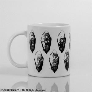 ディシディア ファイナルファンタジー マグカップ White 【CR】 スクウェア・エニックス|hobby-zone