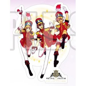 KING OF PRISM by PrettyRhythm ダイカットステッカー Over The Rainbow ブシロードミュージック|hobby-zone