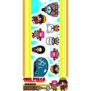 INDEXシール ワンピース×パンソンワークス イエロー 貼ってはがせる シール10種×2枚入り エンスカイ キャラクターグッズ【P】|hobby-zone