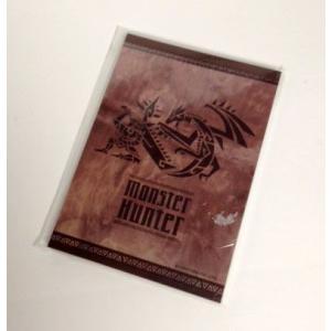 モンスターハンター 狩猟壁画 A6 メモ カプコン 文房具|hobby-zone
