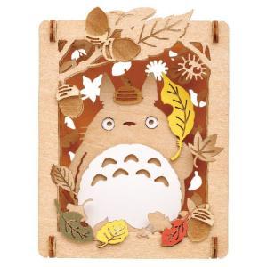 PAPER THEATER -wood style- となりのトトロ PT-W01 秋の木漏れ日 エンスカイ【P】|hobby-zone