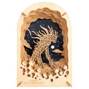 PAPER THEATER -wood style- もののけ姫 PT-WL03 ディダラボッチ エンスカイ|hobby-zone