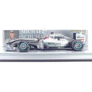1/43 メルセデスGP F1 TEAM MGP W01《No3 2010年 M.SCHUEMACHER》ミハエル.シューマッハ コレクション【ミニチャンプス】|hobby1987
