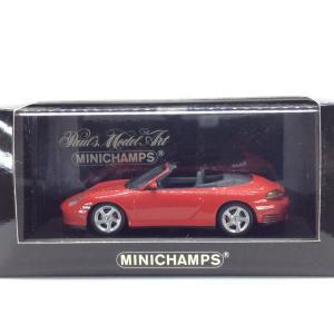 1/43 ポルシェ 911(996) 4S カブリオレ《2003年》3024台限定【ミニチャンプス】|hobby1987