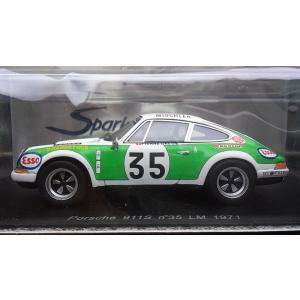 1/43 ポルシェ 911S No35 ル・マン24時間レース 1971年【スパーク】|hobby1987