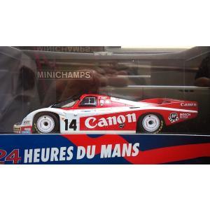1/43 ポルシェ 956L No14 (CANON) ル・マン24時間レース1983年【ミニチャンプス】|hobby1987