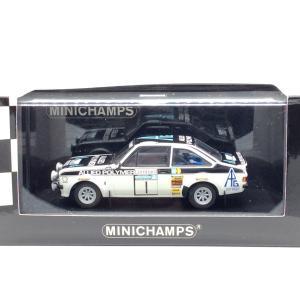 1/43 フォード エスコートIIRS1800 《No1 RAC Rally 1975 Winner T.Makinen》1008台限定【ミニチャンプス】|hobby1987