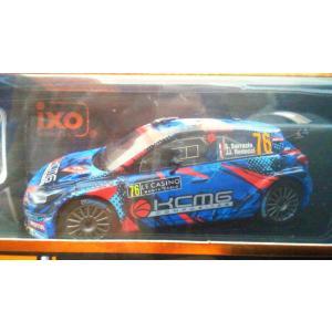 1/43 ヒュンダイ i20 R5 No76 Rally Monte Carlo 2018 S.Sarrazin|hobby1987