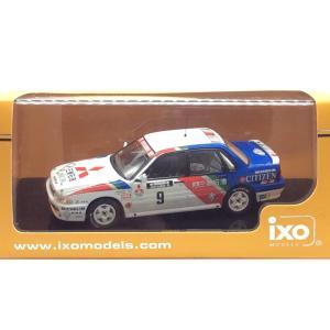 1/43 三菱 ギャラン VR-4《No9 1000湖ラリー 1989年 Winner M Ericsson》【 iXO イクソ】|hobby1987