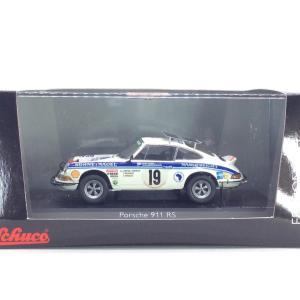 1/43 ポルシェ 911RS《No19 Safari Rally 1974 2位 B. Waldegard》1000台限定【シュコー】|hobby1987