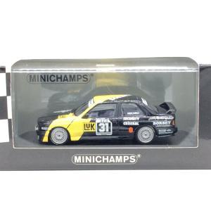 1/43 BMW M3 (E30)《No31MK-Motorsport DTM 1988年 ニュルブルクリンク Winner》2448台限定【ミニチャンプス】|hobby1987