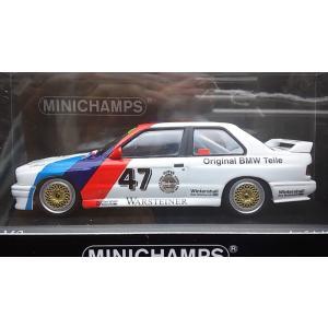 1/43 BMW M3 (E30)《No47 ETC Zoider 1987 Winners》1104台限定【ミニチャンプス】|hobby1987