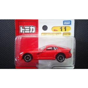絶版トミカ(ブリスターパック) No11 SRT バイパー GTS|hobby1987