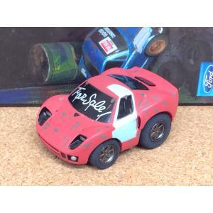 チョロQ (targa)《OLD GARAGE》フォード GT【ラスティ(錆)】レッド|hobby1987