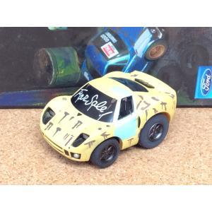 チョロQ (targa)《OLD GARAGE》フォード GT【ラスティ(錆)】イエロー|hobby1987