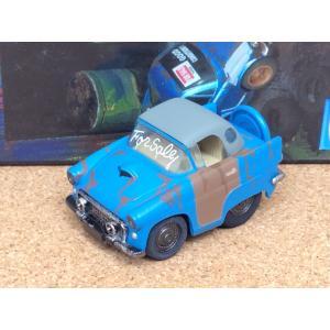 チョロQ (targa)《OLD GARAGE》フォード サンダーバード【板金中】ブルー|hobby1987