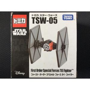 トミカ スターウォーズ TSW-05『ファースト・オーダースペシャル・フォース タイ・ファイター』紙箱に少々擦れあり|hobby1987