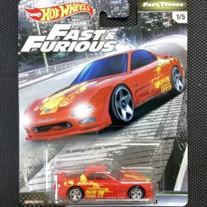 ホットウィール*Hot Wheels* premium FAST&FURIOUS ワイルドスピード《MAZDA RX-7 FD》|hobby1987