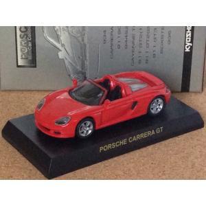 1/64 京商 ポルシェ ミニカー コレクションII《ポルシェ カレラGT》レッド (箱・カード付き)|hobby1987