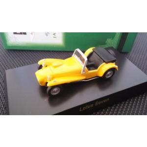 1/64 京商 ブリティッシュカー ミニカー コレクション《ロータス セブン》箱.カード付き|hobby1987