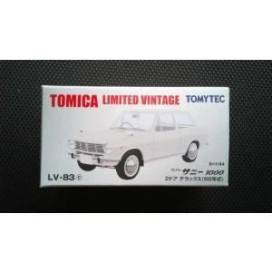 1/64 トミカリミテッドヴィンテージ LV−83c 日産 サニー 1000 2ドア デラックス (66年式) hobby1987