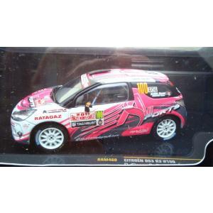 1/43 シトロエン DS3 No100 Rally Monte Carlo IRC 2011 D.Elena|hobby1987