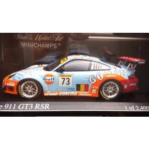 1/43 ポルシェ 911 GT3 RSR No73 ル・マン 2006 (2400台限定)|hobby1987