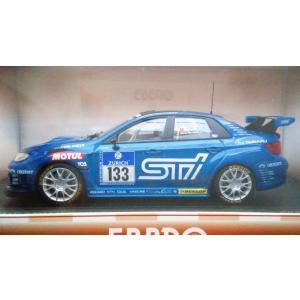1/43 スバル WRX STI No133 ニュルブルクリンク24時間レース 2012|hobby1987