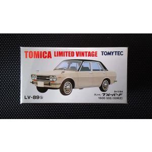 1/64 トミカリミテッドヴィンテージ LV−89a《ダットサン ブルーバード 1600 SSS (68年式)》 hobby1987