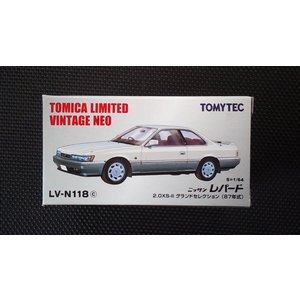 1/64 トミカリミテッドヴィンテージNEO LV-N118c『日産 レパード 2.0 XS-IIグランドセレクション (87年式)』 hobby1987