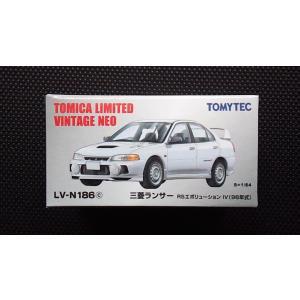 1/64 トミカリミテッドヴィンテージNEO LV-N186c『三菱 ランサー RS エボリューションIV (96年式)』 hobby1987