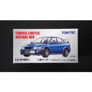 1/64 トミカリミテッドヴィンテージNEO LV-N190c『三菱 ランサー GSR エボリューション VI (99年式)』 hobby1987
