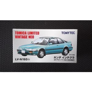 1/64 トミカリミテッドヴィンテージNEO LV-N193b『ホンダ インテグラ 3ドアクーペ XSi (89年式)』 hobby1987