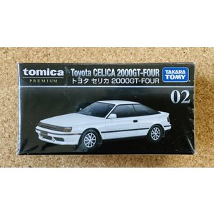 トミカ プレミアム 02『トヨタ セリカ 2000GT-FOUR』|hobby1987