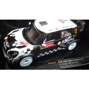 1/43 MINI ジョンクーパーワークス No12 Rally Monte Carlo2012/ A.Araujo|hobby1987