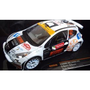 1/43 プジョー 207 S2000 No42 Rally Monte Carlo2013/ O.Burri|hobby1987